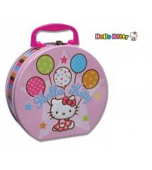 Maletín grande redondo Hello Kitty