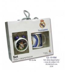 Set Regalo Reloj + Taza Real Madrid