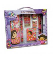 Set de papelería Dora en caja grande