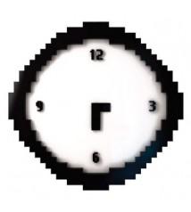 Regalos originales, reloj pixel